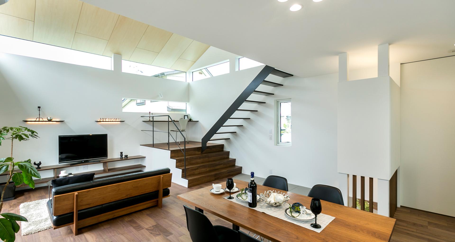 ジョイホーム 首都圏で活躍する建築デザイナー・建築家とのコラボレーションで、住宅設計提案するデザイナーズハウスなどを盛岡市・花巻市・北上市など岩手県を中心に展開。